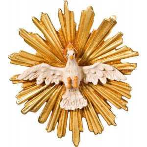 Spirito Santo con aureola